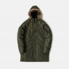 Парка зимняя Footwork Alaska Army Green