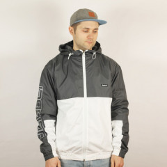 Куртка / Ветровка Dislabel Windbreaker - Серо-Белый