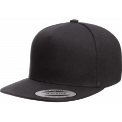 Кепка FlexFit 6007 - Classic Snapback All Black