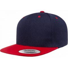 Кепка FlexFit 6089MT - Classic Snapback Navy/Red