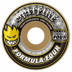 Колеса Spitfire F4 Conical Yellow 52/54mm 99D