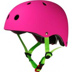 Детский шлем Los Raketos Bambino Neon Fuxia